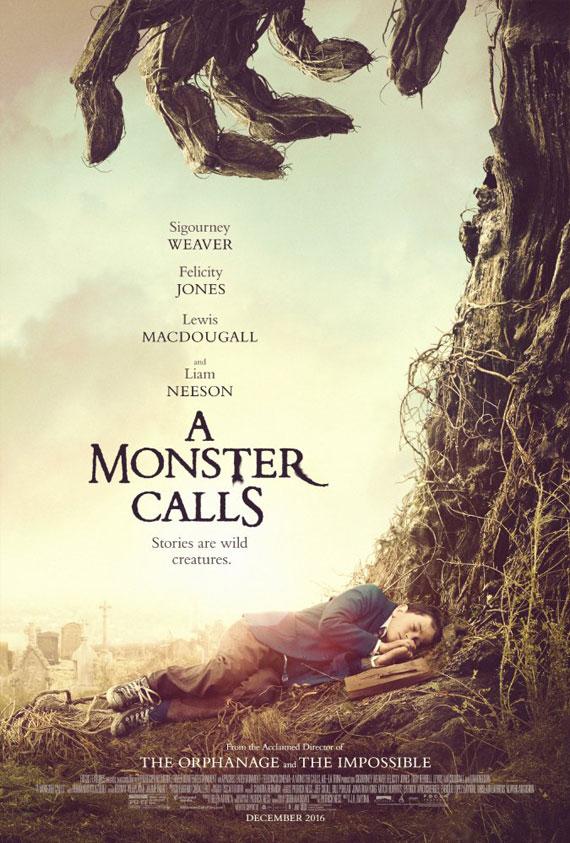 Monster Calls, A Poster