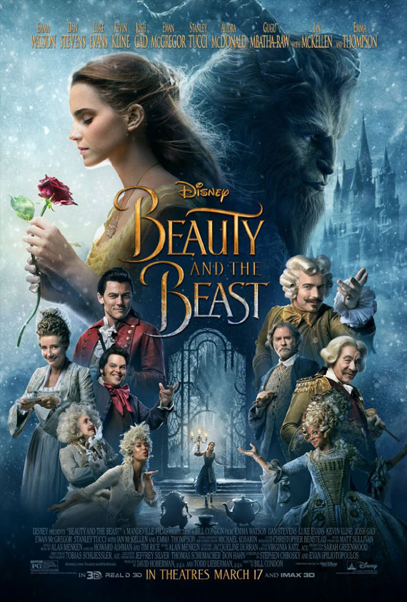 Beauty And The Beast 3D GTX Poster