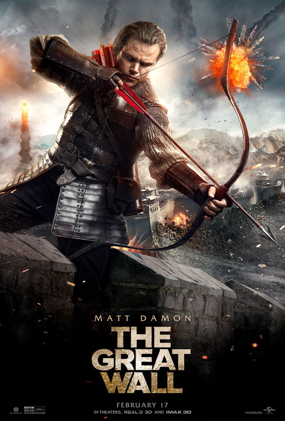 Great Wall, The Poster
