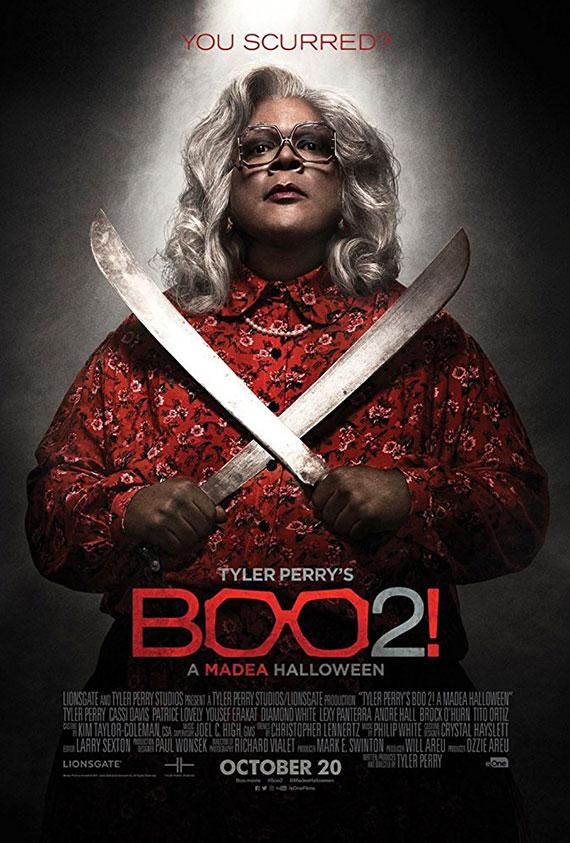 Tyler Perry's Boo 2: A Madea Halloween Poster