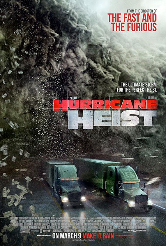 Hurricane Heist, The Poster