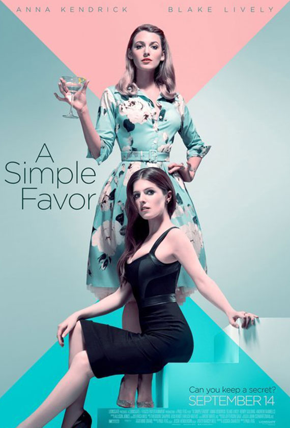 Simple Favor, A Poster