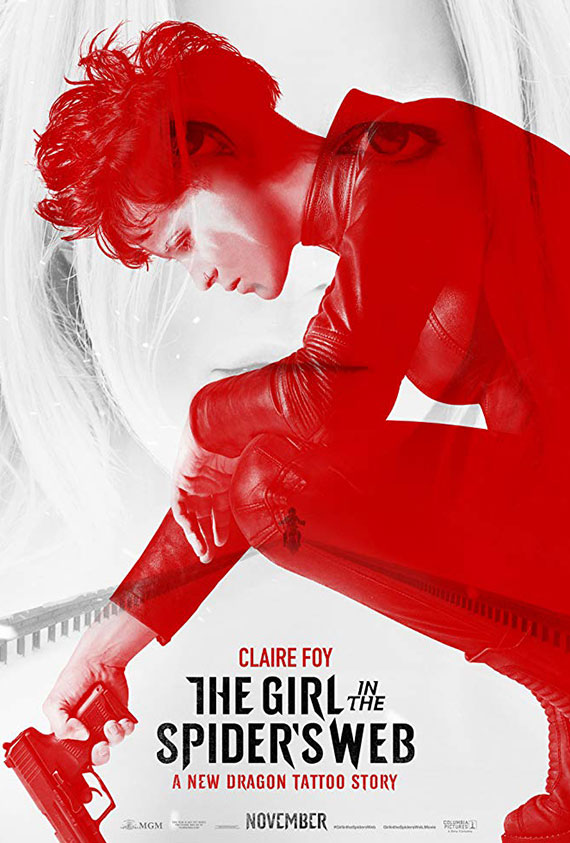 """Girl In The Spider""""s Web, The Poster"""