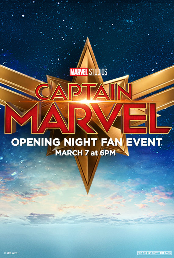 Captain Marvel Fan Event