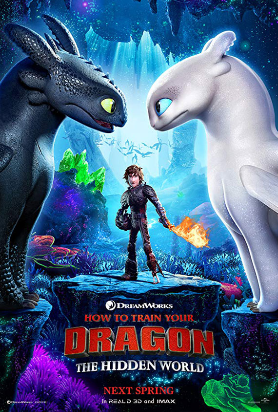 How To Train Your Dragon: The Hidden World LX