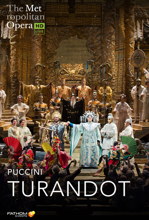 The Metropolitan Opera: Turandot Poster