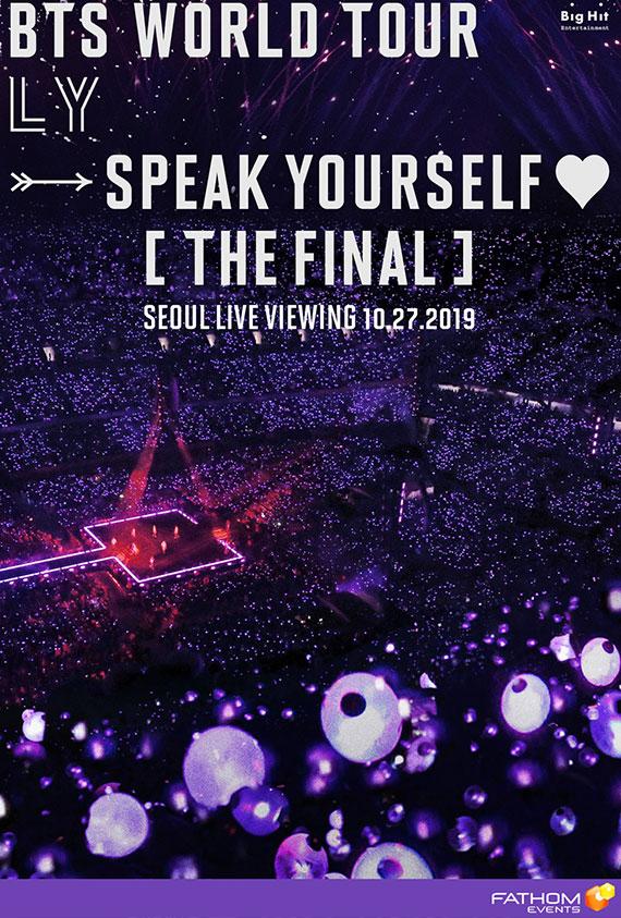 "BTS World Tour ""Love Yourself: Speak Yourself"" [TH"