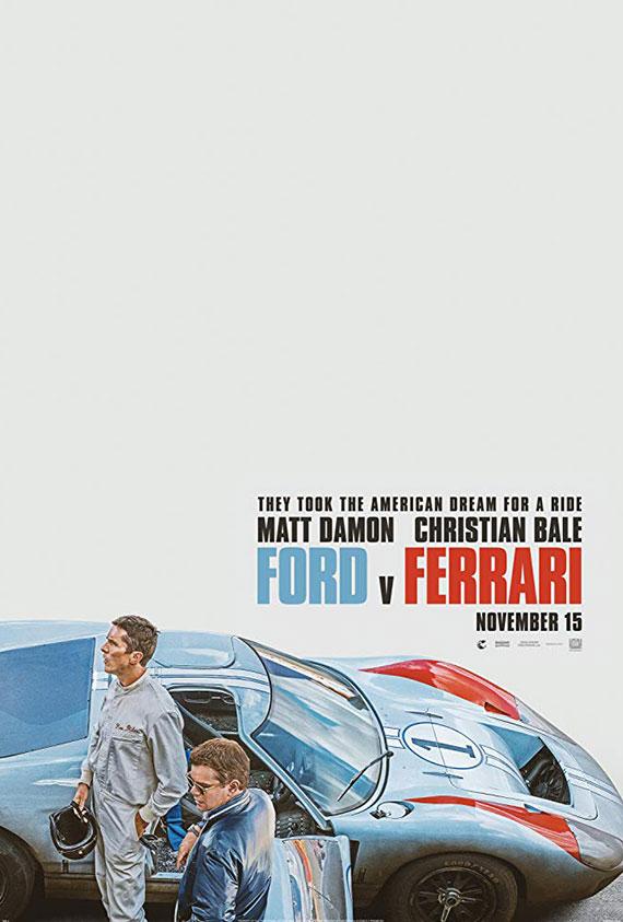 Ford v. Ferrari Poster