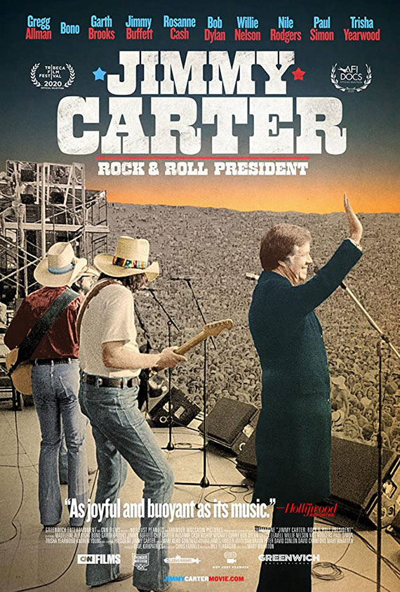 Jimmy Carter: Rock & Roll President Poster