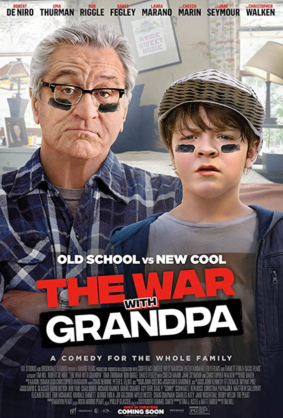 War With Grandpa, The poster image