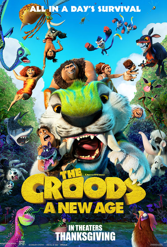 Croods: A New Age, The poster image
