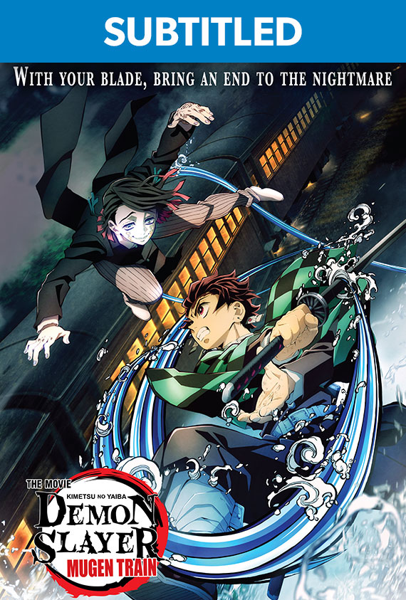 Demon Slayer: Mugen Train Subtitled poster image