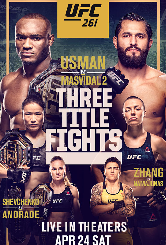 UFC 261 poster image