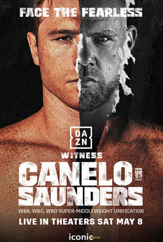 DAZN: Canelo vs. Saunders poster image