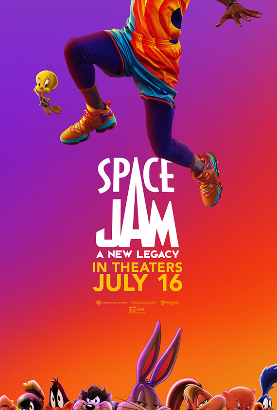 Space Jam: A New Legacy poster image