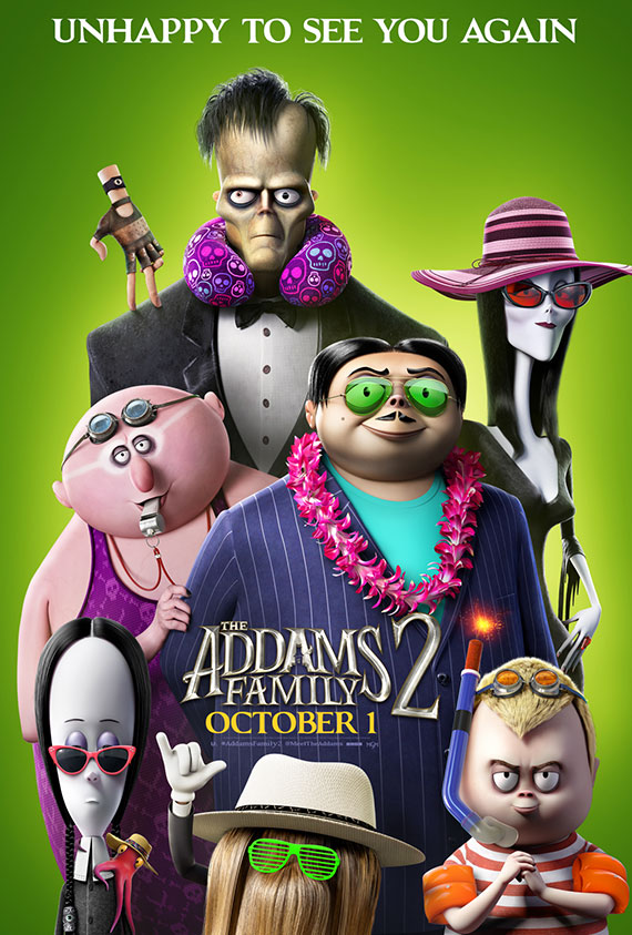 Addams Family 2, The poster image