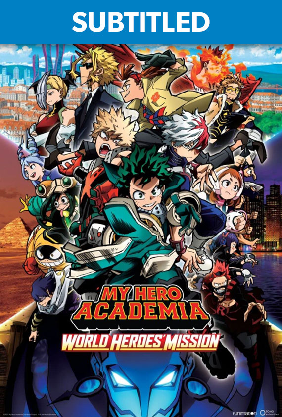 My Hero Academia: World Heroes' Mission Subtitled poster image