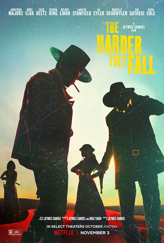 Harder They Fall,The poster image